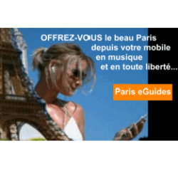 Guide de Paris MP3 vol.1 FR